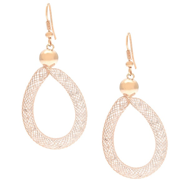 51d2ab8b4 Shop Glass Tubular Mesh Earrings - On Sale - Free Shipping On Orders ...