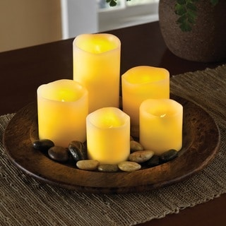 Order Home Collection 5-Piece LED Candle Set Small