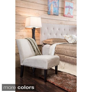 Furniture of America Springville Contemporary Fabric or Leatherette Accent Chair