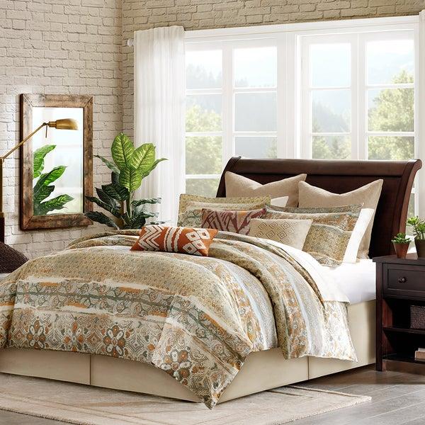 Harbor House Castle Hill 4-piece Cotton Comforter Set with Optional Euro Sham Separate