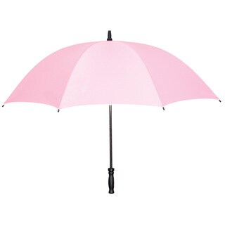 Leighton Strawberry Lightweight Fiberglass-frame Umbrella