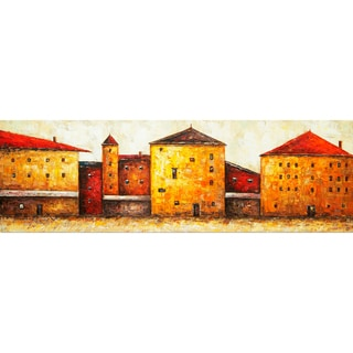 'Town Square' Canvas Art
