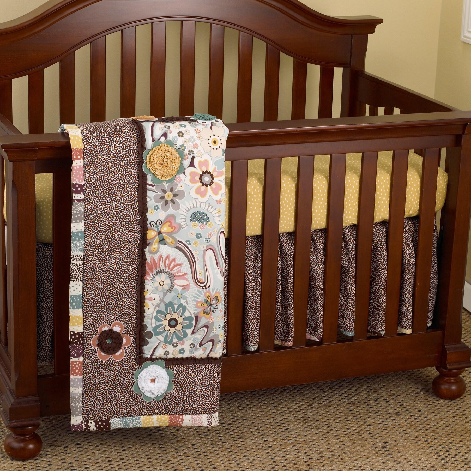 Cotton Tale Penny Lane 3-piece Crib Bedding Set (Cotton T...