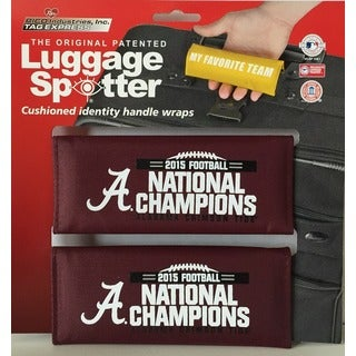 NCAA Alabama Crimson Tide Original Patented Luggage Spotter