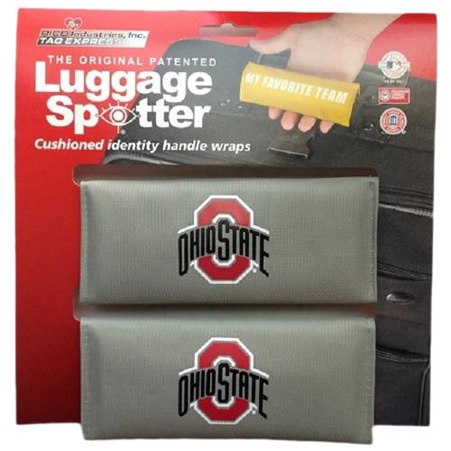 NCAA Ohio State Buckeyes Original Patented Luggage Spotter (Set of 2)