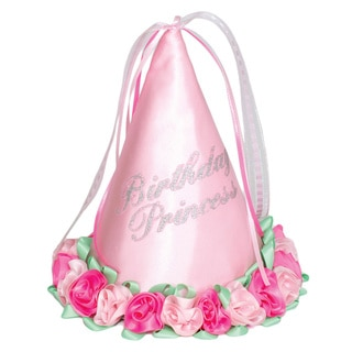 Imagination Creations Sweet n' Fancy Birthday Princess Hat in Pink