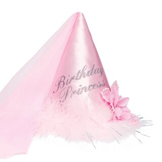 Imagination Creations Birthday Princess Hat in Pink
