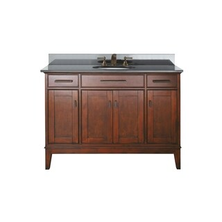 Avanity Madison 48-inch Single Vanity in Tobacco Finish with Sink and Top