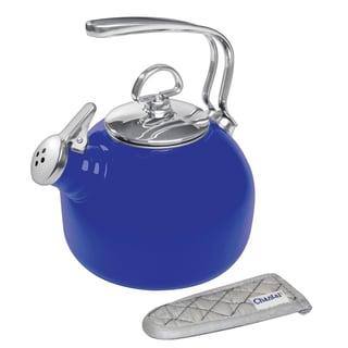 Chantal Indigo Blue Enamel-on-Steel Classic Tea Kettle