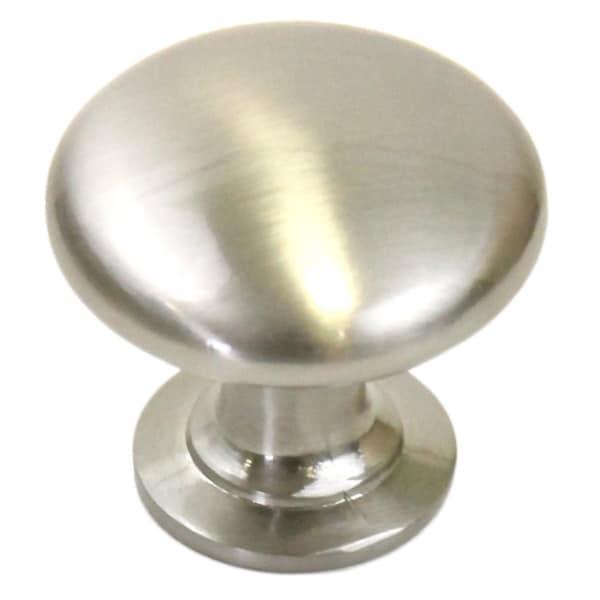 Shop 1 1 4 Inch Round Circular Design Satin Nickel Cabinet