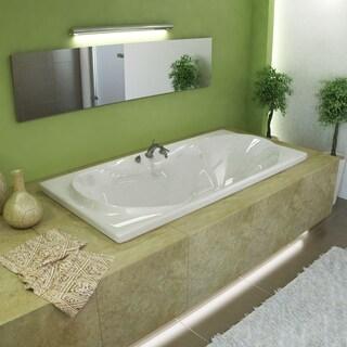 Atlantis Whirlpools Whisper 36 x 72 Rectangular Soaking Bathtub in White