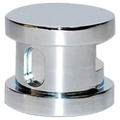 SteamSpa Steamhead with Aroma Therapy Reservoir in Chrome