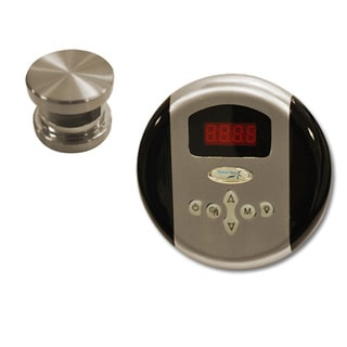 SteamSpa Oasis Control Kit in Brushed Nickel