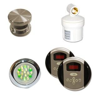 SteamSpa Royal Control Kit in Brushed Nickel