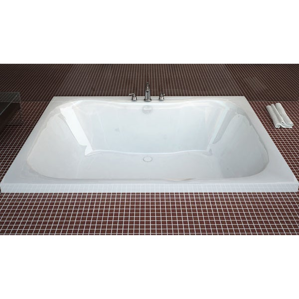 Shop Atlantis Whirlpools Neptune 48 X 60 Rectangular Soaking Bathtub
