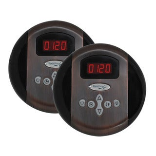 SteamSpa Dual Control Panel Plus Two memory Settings; Oil Rubbed Bronze