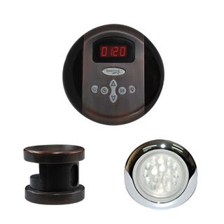 SteamSpa Indulgence Control Kit in Oil Rubbed Bronze