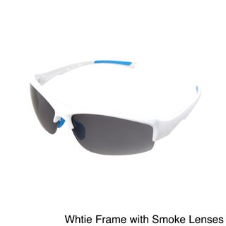 Hot Optix Unisex Sport Sunglasses in Assorted Colors (Option: White - White)