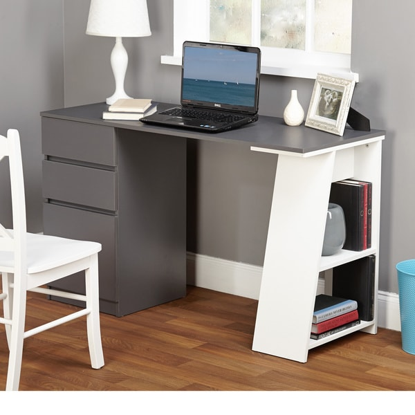 Simple Living Como Modern Writing Desk Free Shipping