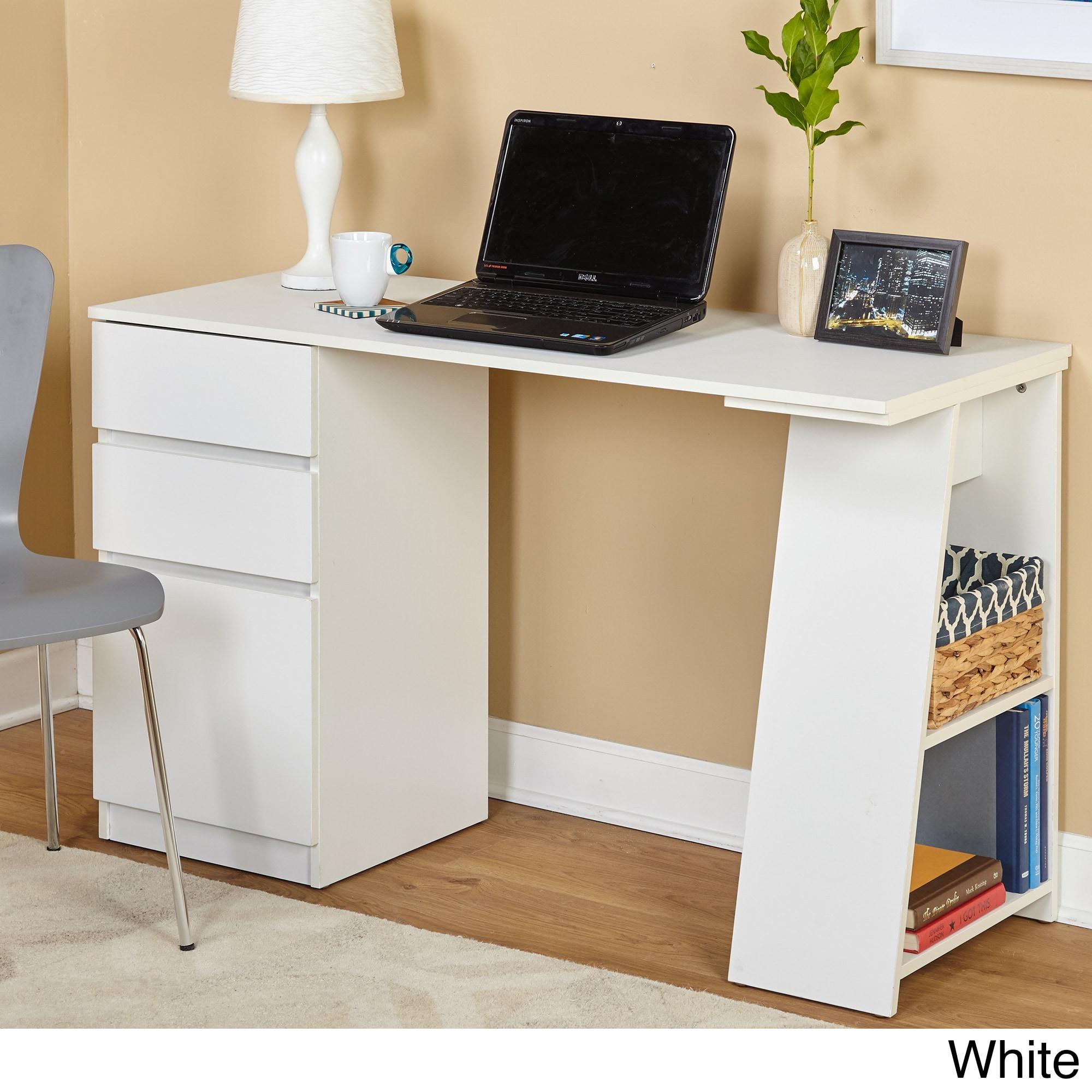 space saver desk sleek modern design writing drawing