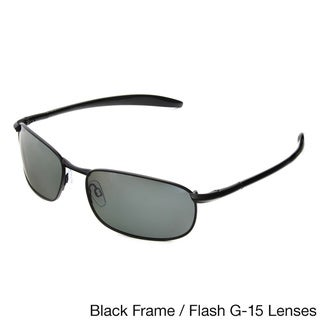 Hot Optix Mens Metal Polarized Sport Sunglasses