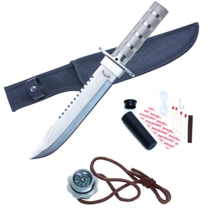 14-inch Stainless Steel Survival Knife and Sheath