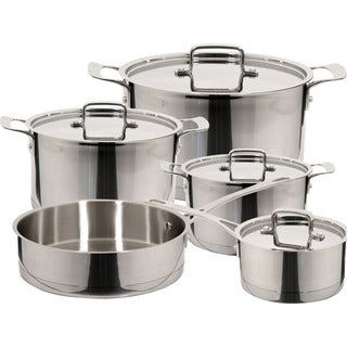 Magefesa 'Inoxia' 9-piece Stainless Steel Cookware Set