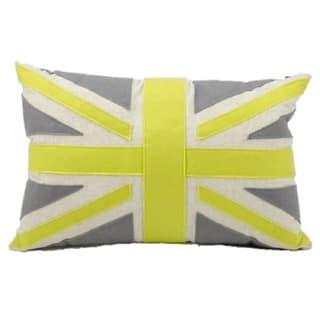 Mina Victory Felt Green Union Jack 24-inch Throw Pillow|https://ak1.ostkcdn.com/images/products/8930454/P16145633.jpg?impolicy=medium