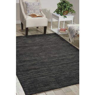 Waverly Grand Suite Charcoal Area Rug by Nourison (8' x 10'6)