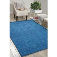 Waverly Grand Suite Ocean Area Rug by Nourison (8' x 10'6) - 8' x 10'6