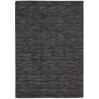 Waverly Grand Suite Charcoal Area Rug by Nourison (5' x 7'6)