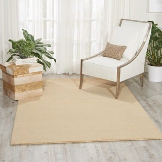 Waverly Grand Suite Cream Area Rug by Nourison (5' x 7'6)