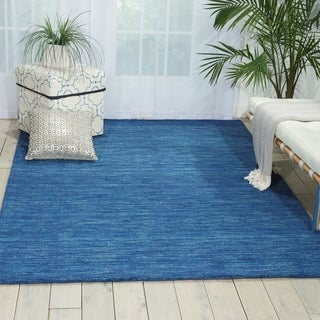 Waverly Grand Suite Ocean Area Rug by Nourison (5' x 7'6)
