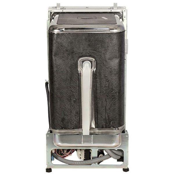White Edgestar 18 Built In Dishwasher