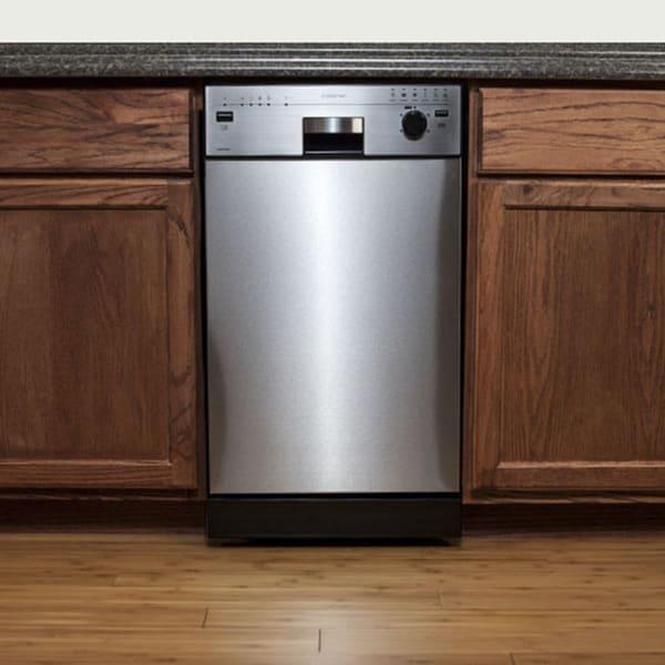 EdgeStar Stainless Steel 18-inch Built-in Dishwasher ...
