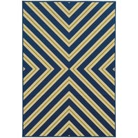 StyleHaven Indoor/ Outdoor Geometric Rug - 5'3 x 7'6