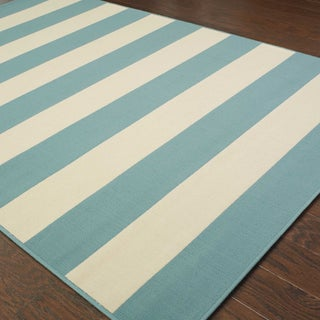 Havenside Home Madisonville Indoor/ Outdoor Stripe Rug (5'3 x 7'6) (More options available)