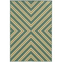 StyleHaven Indoor/ Outdoor Geometric Rug (7'10 x 10'10) - 7'10 x 10'10