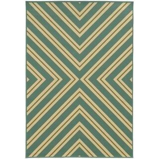 StyleHaven Indoor/ Outdoor Geometric Rug (8'6 x 13')