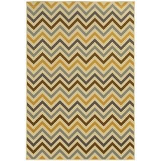 StyleHaven Indoor/ Outdoor Chevron Rug (1'9 x 3'9)