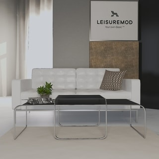 LeisureMod Malvern Nesting Coffee Tables