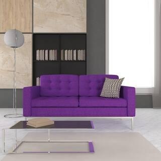 LeisureMod Lorane Modern Purple Wool Fabric Studio Sofa|https://ak1.ostkcdn.com/images/products/8930611/P16145783.jpg?impolicy=medium