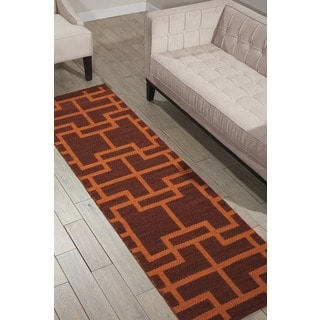 Barclay Butera Maze Paris Area Rug by Nourison (2'3 x 8')