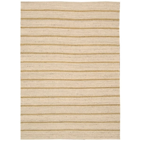 kathy ireland Jardin Wheat Area Rug by Nourison - 5' x 7'6""
