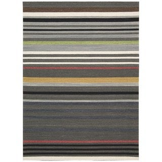 kathy ireland Griot Poppy Seed Area Rug by Nourison (5'3 x 7'5)