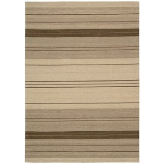 kathy ireland Griot Clove Area Rug by Nourison (5'3 x 7'5)