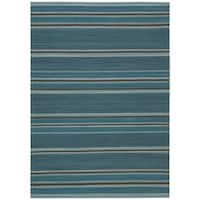 """kathy ireland Griot Turquoise Area Rug by Nourison - 8' x 10'6"""""""