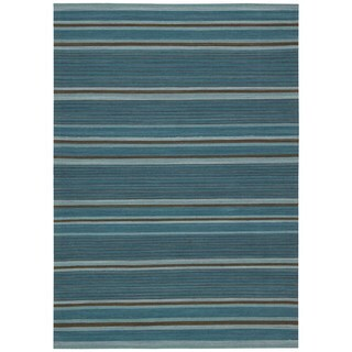 kathy ireland Griot Turquoise Area Rug by Nourison (2'6 x 4')