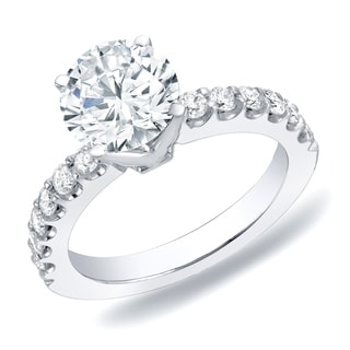 Auriya 14k Gold 1ct TDW Diamond Engagement Ring (H-I, SI1-SI2)