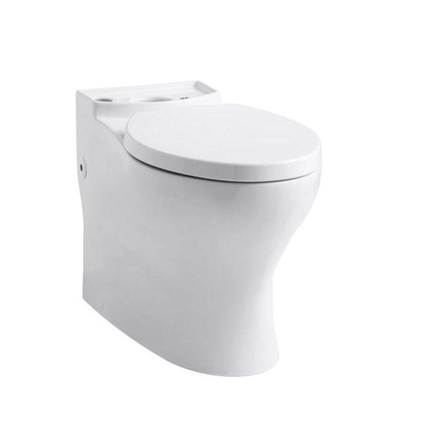 kohler persuade comfort height elongated white toilet bowl o